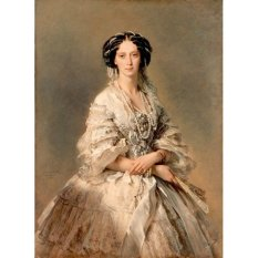 Jiekley Fine Art - Lukisan Portrait of Empress Maria Alexandrovna Karya Franz Xaver Winterhalter - 1857