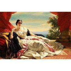 Jiekley Fine Art - Lukisan Portrait of Leonilla, Princess of Sayn-Wittgenstein-Sayn Karya Franz Xaver Winterhalter - 1843