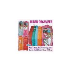 Jilbab Organizer Polos (Rak Gantung Hanging Jumbo/Large Syal/Kerudung)