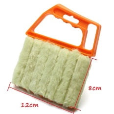 JinGle Microfibre Venetian Blind 7 Brush Window Air Conditioner Duster Dirt Cleaner - intl