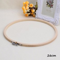 ... Ring Bamboo Sewing ... - MagiDeal 1pc Embroidery Hoops - Embroidery Cross Stitch Craft ABS Ivory 21cm - intl . Source · Rp 51.000