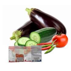 Jirifarm Hidroponik Paket Bibit Sayuran Buah 4 Macam