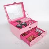 Toko Jogja Craft Box Kotak Jam Tangan Isi 4 Jumbo Mix Tempat Perhiasan Aksesoris Pink Jogja Craft Di Di Yogyakarta