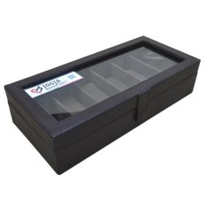Jogja Craft Full Brown Glasses Box Organizer - Box Kacamata - Kotak Tempat Kacamata - Coklat