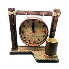 Jogja Craft Jam Batok Kelapa Bentuk Gong - Natural