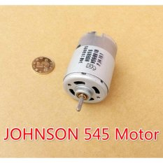 Harga Johnson 545 Motor Dc 6 V 12 V Axis Depan Ball Bearing Motor 12 V 5A 49000 Rpm Kecepatan Tinggi Bagus For Diy Alat Listrik 6 8 Di Tiongkok