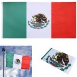 Review Jo Di New 3X5 Ft Nasional Bendera Meksiko Indoor Outdoor Polyester Banner Grommet Internasional Oem