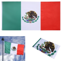 Jual Jo Di New 3X5 Ft Nasional Bendera Meksiko Indoor Outdoor Polyester Banner Grommet Internasional Tiongkok