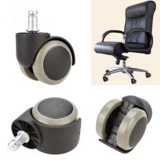 Jo. Di New 5 Pcs Kursi Kantor Soft Rubber Caster Wheel Swivel Lantai Kayu furniture Pengganti-Internasional
