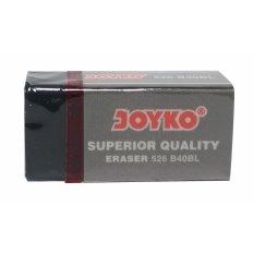 Joyko Eraser 526 B40Bl Penghapus - Hitam [20 Pcs]