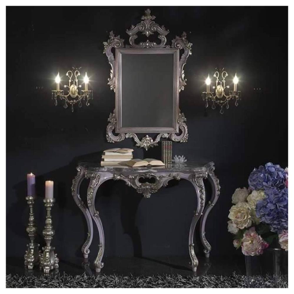 Jual Meja Konsul Ukir Ukiran Set Meja Rias Mirror Klasik Antik Furniture Kayu Mahoni Mebel Jepara