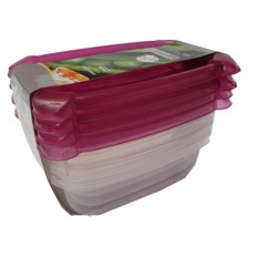 Jusco Microwave 8136 Food Container - Merah