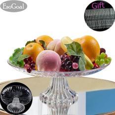 Spek Jvgood Piring Buah Acrylic Plate Untuk Buah Kue Desserts Candy Buffet Berdiri Untuk Rumah Party Dengan Free 50 Pcs Buah Garpu Tiongkok