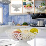 Review Jvgood Piring Buah Tier Hollow Plate Untuk Buah Kue Desserts Candy Buffet Stand Untuk Rumah Pesta Tiongkok