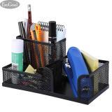 Harga Jvgood Office Desk Organizer W 3 Compartments Black Mesh Metal Collection Supply Caddy Termurah