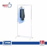 Spesifikasi Jysk Clothes Rail Gudme With Shoe Shelf Putih Dan Harganya