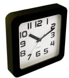 Jysk Jam Dinding Wall Clock Sigvart W23Xl23Xh4Cm Hitam Terbaru