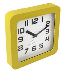 Iklan Jysk Jam Dinding Wall Clock Sigvart W23Xl23Xh4Cm Kuning