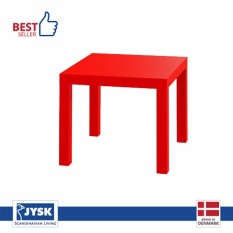 Toko Jysk Meja Sudut Koge Side Table Merah Jysk