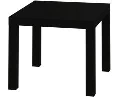 Harga Jysk Meja Sudut Koge Table Hitam Seken
