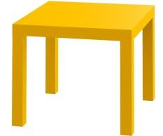 Promo Jysk Meja Sudut Koge Table Kuning Jysk Terbaru