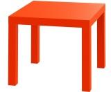 Promo Jysk Meja Sudut Koge Table Oranye Murah
