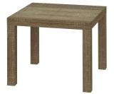 Review Pada Jysk Meja Sudut Koge Table Sonoma Cokelat