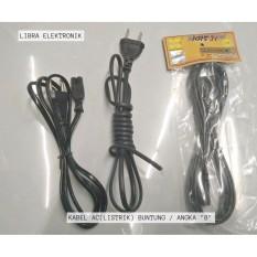 Kabel AC Listrik Angka 8 Bagus