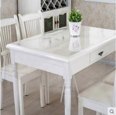 Kaca Lembut PVC Plastik Taplak Meja Taplak Meja Makan