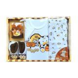 Jual Kado Bayi Set Box Baju Lengan Pendek Celana Pendek Topi Sepatu Antik