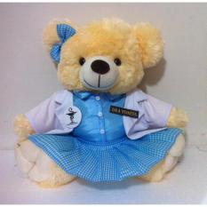 Kado ulang tahun Boneka Teddy bear  Jumbo Profesi Perawat dan Bidan 50cm