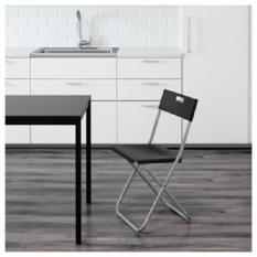 Kado Unik-- IKEA Kursi lipat minimalis - GUNDE Folding Chair