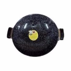 Kado unik-- Maspion Wajan Enamel Marble Royal Wok 35 cm (PROMO)