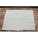 Beli Karpet Bulu Putih Korea Gimbal Premium Kredit Jawa Barat