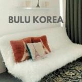 Jual Karpet Bulu Putih Korea Gimbal Premium Ori