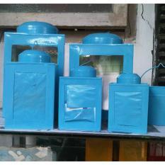 Kaleng Kerupuk Ukuran 15x15x18cm Zanjabil Craft Bogor