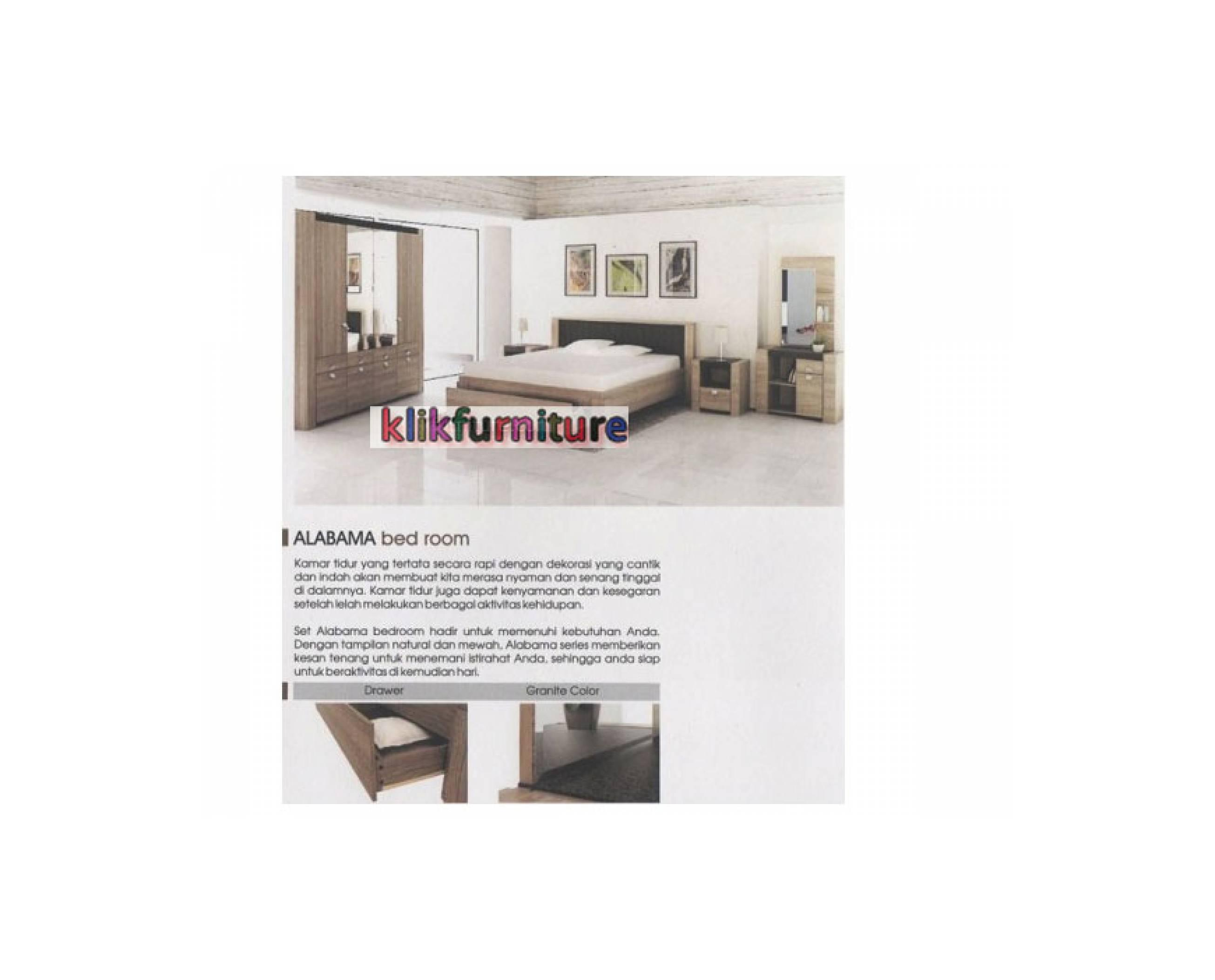 Kamar Set Minimalis ALABAMA PRODESIGN