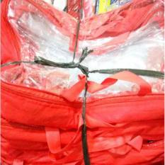 Kantong Mika Resleting untuk pengemasan selimut/sprei dll