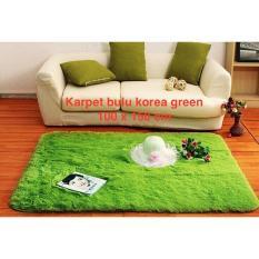 Karpet bulu halus korea alas bintik anti slip mutu ok