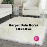 Toko Jual Karpet Bulu Korea Tebal Ukuran 100X130Cm