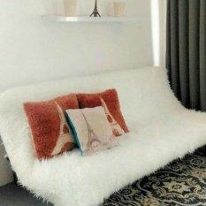 Jual Karpet Bulu Korea Uk 200X130 Karpet Bulu Putih Korea Gimbal Online