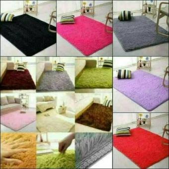 Karpet Bulu Rasfur Anti Slip Uk.200x150x3cm .
