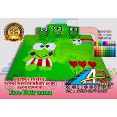 ar_toys karpet bulu rasfur keropi hijau muda
