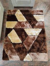 Karpet Bulu Topline Shaggy 13 Brown 150X200cm Murah