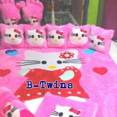 Karpet Karakter Full Set Hello Kitty Dress