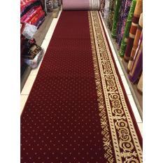 karpet masjid grosir roll warna merah TEBRIZ