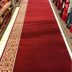karpet masjid harga meter warna merah PLATINUM MOSQUE