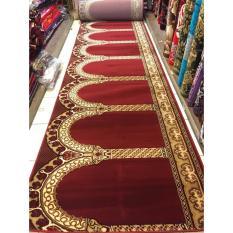 karpet masjid motif per roll warna merah TEBRIZ