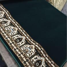 karpet masjid polos per meter warna hijau MAGBUL