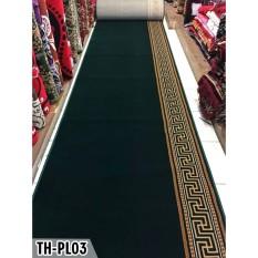 karpet masjid polos warna hijau PLATINUM MOSQUE